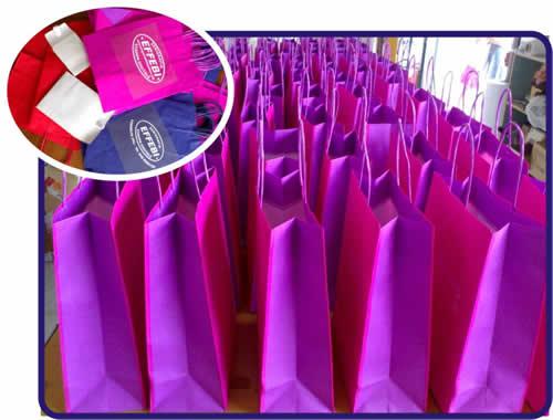 Shopper carta. cotone, tnt personalizzate in serigrafia