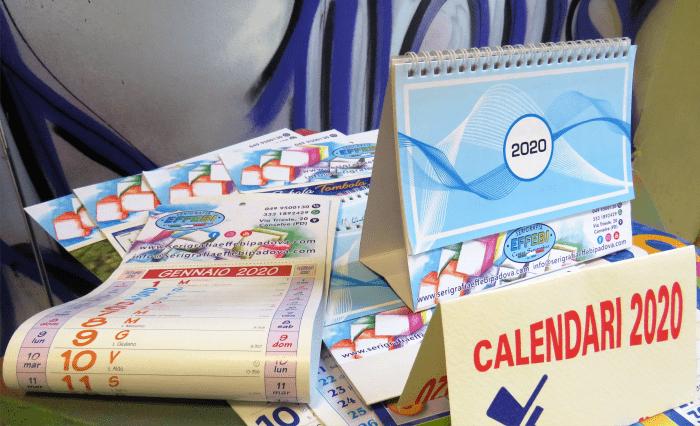 Calendari 2020 Personalizzati