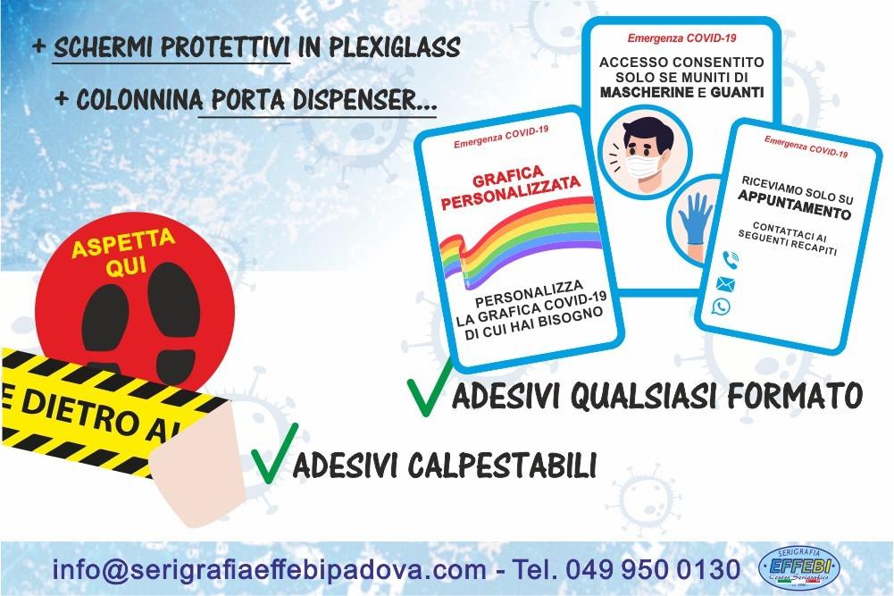 Segnaletica Aziendale e Dispositivi anti Covid-19